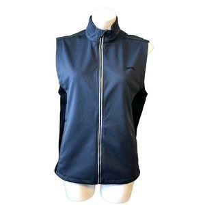Slazenger Golf Vest Small Full Zip Pockets